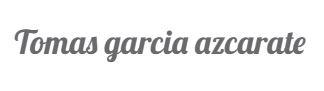 logo tomasgarcia